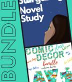 Stargazing by Jen Wang Novel Study and Comic Classroom Decor