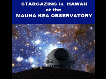 Stargazing in Hawaii PowerPoint