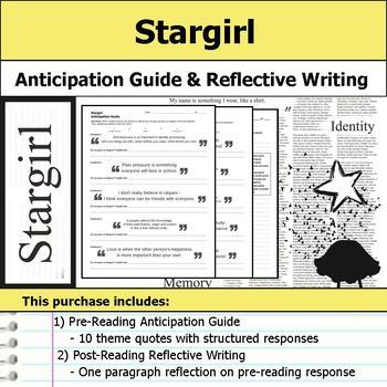 Stargirl - Anticipation Guide & Reflection