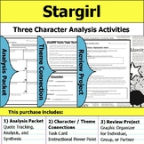 Stargirl - Character Analysis Packet, Theme Connections, & Project