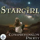 Stargirl Comprehension Packet