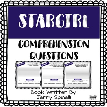 Stargirl Comprehension Questions