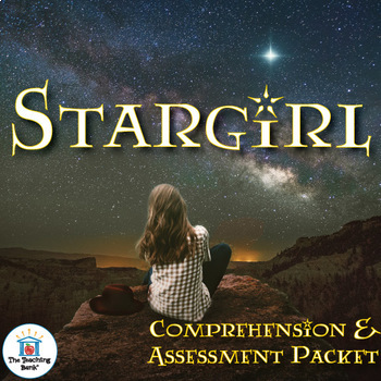Stargirl Comprehension and Assessment Bundle