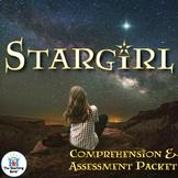 Stargirl Comprehension and Assessment Bundle