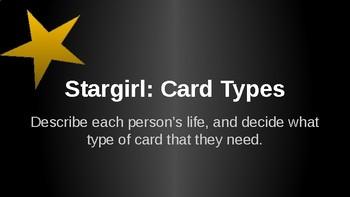 Stargirl Empathy Cards Power point Activity