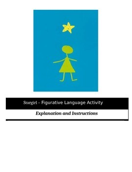 Stargirl - Figurative Language Activity