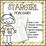 Stargirl Final Exam