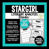 Stargirl Independent Novel Study