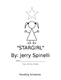 Stargirl Novel Study Packet
