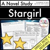 Stargirl Novel Study Unit Distance Learning