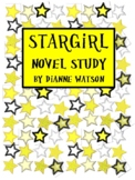 Stargirl Novel Study by Dianne Watson