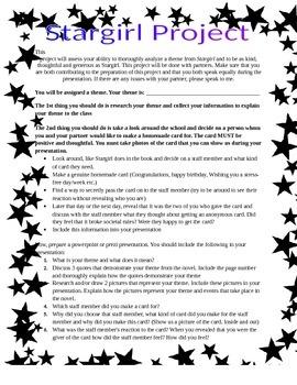 Stargirl Presentation