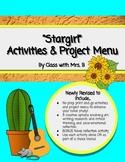 Stargirl Project Choice Board