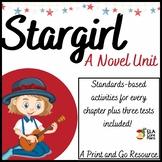 Stargirl Novel Unit ~ Activities, Handouts, Tests!