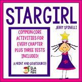 Stargirl Novel Unit ~ Activities, Handouts, Tests!