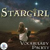 Stargirl Vocabulary Packet