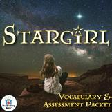 Stargirl Vocabulary and Assessment Bundle