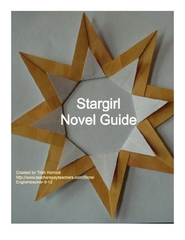 Stargirl and Transcendentalism Unit Plan, Study Guide, and