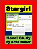 Stargirl by Jerry Spinelli: Novel Study