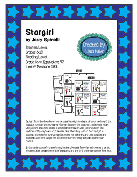 Stargirl by Jerry Spinelli Novel Unit with Differentiated/