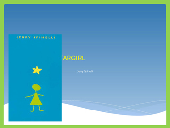 Stargirl by Jerry Spinelli: Structured Literature Circle P