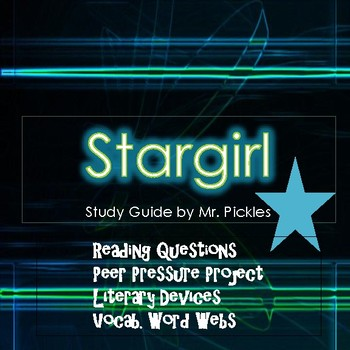 Stargirl by Jerry Spinelli lesson plans, study guide and reading questions