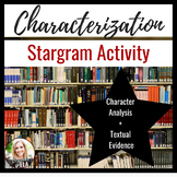 Characterization: Literary Elements & Textual Evidence {COMMON CORE}
