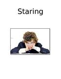 Staring Social Story