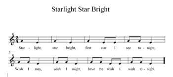 Starlight Song Activities