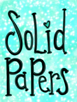 Starlight Watercolor Papers Frames and Backgrounds Clip Art Set