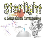 Starlight audio: a song about Astronomy