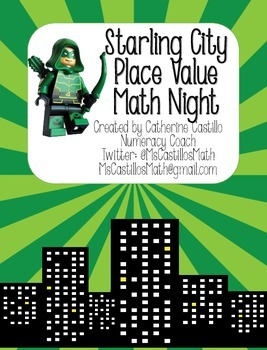 Starling City Place Value Math Night Kit Green Arrow Theme