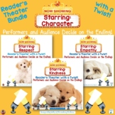 Starring Character: A Reader's Theater Bundle with a Twist!