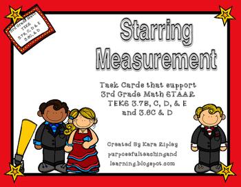 Starring Measurement {STAAR and TEK ALIGNED for 3rd Grade}