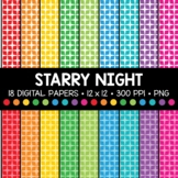 Starry Night Digital Paper