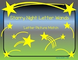 Starry Night Letter Wands