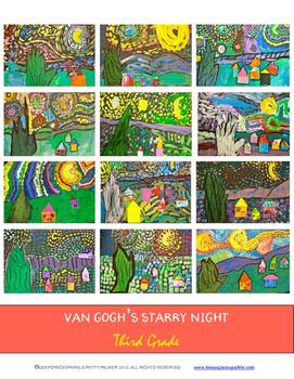 Starry Night Mixed-Media Art Lesson