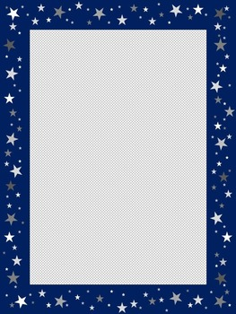 star border transparent star borders by writing by rachel tpt