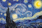 Starry Night by Van Gogh Collaborative Mixed Media Art Piece