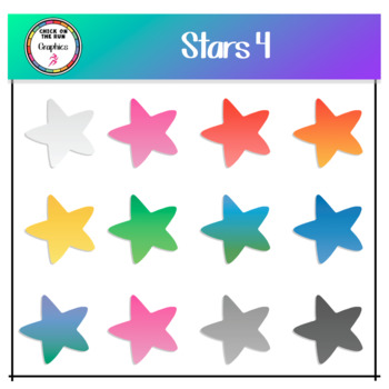 Stars 4 (Digital Clip Art)