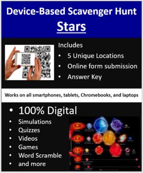 Stars – A Device-Based Scavenger Hunt Activity