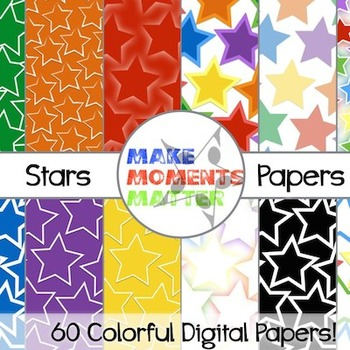 Stars -- A Digital Paper Pack!