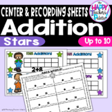 Stars Addition up to 10 ~Perfect for Mini-Erasers!~