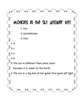 Stars Assessment Size, Brightness, Patterns S2E1