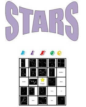 Stars Bingo
