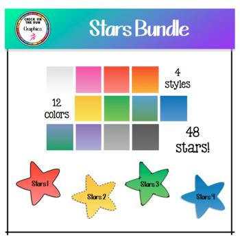 Star Bundle (Digital Clip Art)