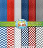 FREE Stars & Chevrons Digital Scrapbook Pack {Zip-A-Dee-Doo-Dah Designs}