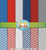 FREE Stars & Chevrons Digital Scrapbook Pack {Zip-A-Dee-Doo-Dah Designs}