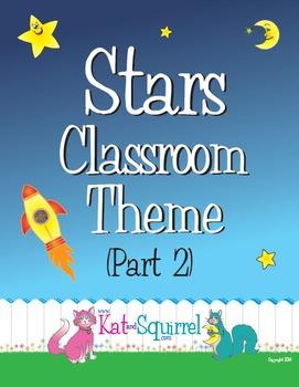 Stars Classroom Theme Art (Part 2)