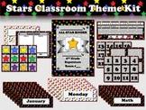 Stars Classroom Theme Kit - Multi-colored Superstars - King Virtue